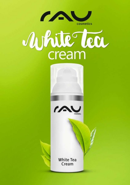 RAU Plakat - RAU White Tea Cream grün A2
