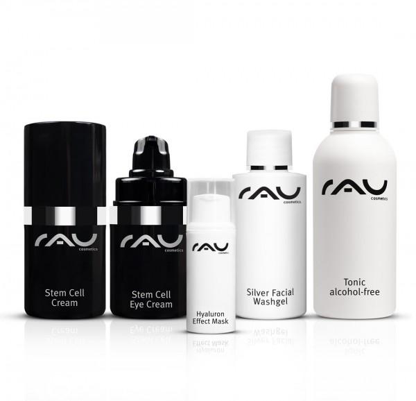 RAU Cosmetics Pflege-Set für reife Haut: Stem Cell Produkte & Reinigung