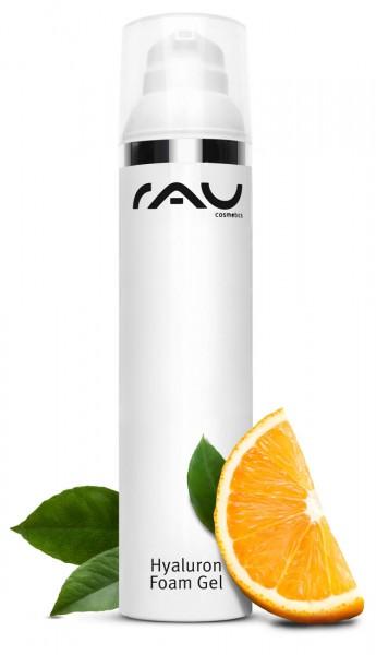 RAU Hyaluron Foam Gel - Gesichts Massage-Gel mit Hyaluronsäure und Aloe Vera
