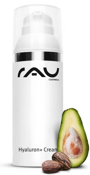 RAU Hyaluron + Cream 50 ml intensive Feuchtigkeitspflege & UV-Schutz - LSF 6