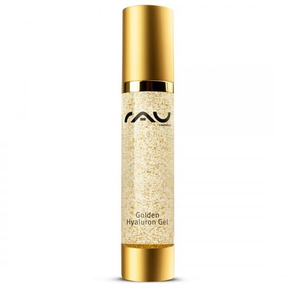 RAU Golden Hyaluron Gel 50 ml - Anti-Aging gel with hyaluronic acid, gold & jujube