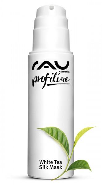 RAU White Tea Silk Mask 150 ml PROFILINE Kabinenware - Gesichtsmaske mit Seidenproteinen