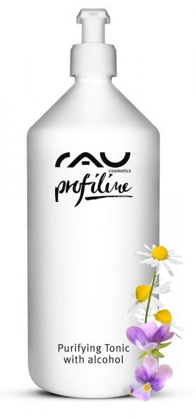 RAU Purifying Tonic with alcohol 1000 ml PROFILINE - Entzündungshemmender Spezialtoner gegen unreine