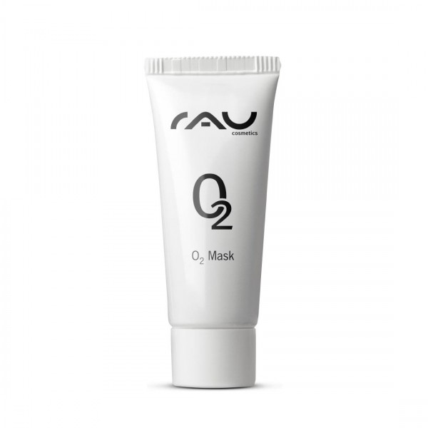 RAU O2 Mask 8 ml - Face Mask with Aloe vera, Arnica and Ginkgo