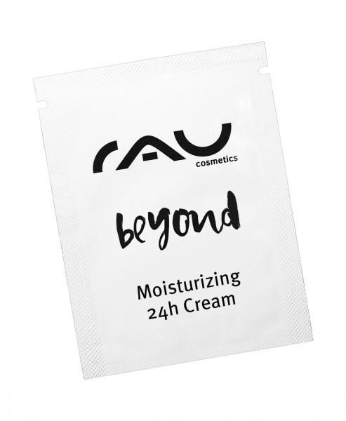 RAU beyond Moisturizing 24h Cream 1,5 ml -  feuchtigkeitsspendende Creme aus dem Besten der Natur