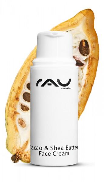 RAU Cosmetics Cacao & Shea Butter Face Cream 5 ml Schnuppergröße Tester