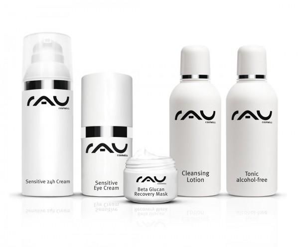 RAU Cosmetics Pflege-Set für jugendliche/sensible Haut