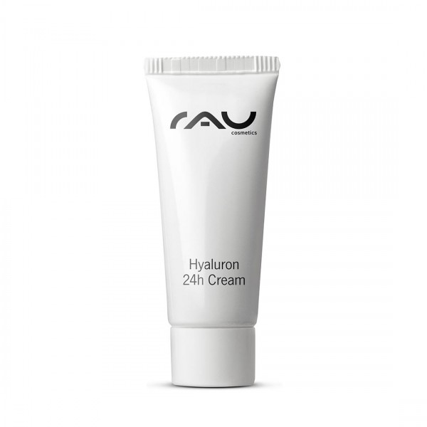 RAU Hyaluron 24h Cream 8 ml - Hyaluronic Acid Cream with Shea Butter & Avocado Oil