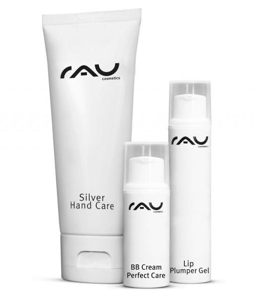 RAU Cosmetics Beauty Pflege-Set Trio für Frauen