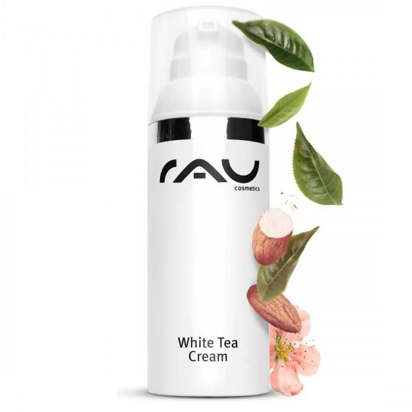 RAU White Tea Cream 50 ml - Anti-Aging-Cream with Aloe Vera & White Tea