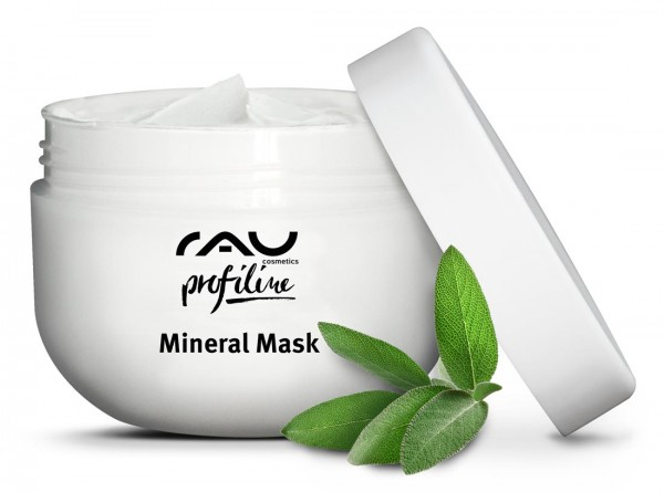RAU Mineral Mask 200 ml PROFILINE - mit Rügener Heilkreide, Zink & Salbei
