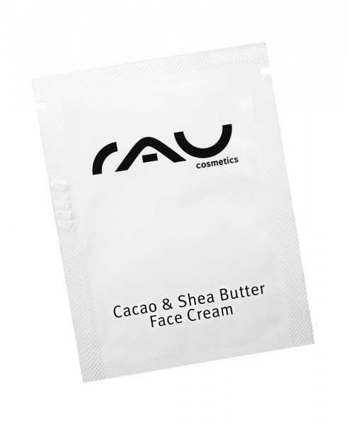 RAU Cosmetics Cacao & Shea Butter Face Cream Sachet Probe