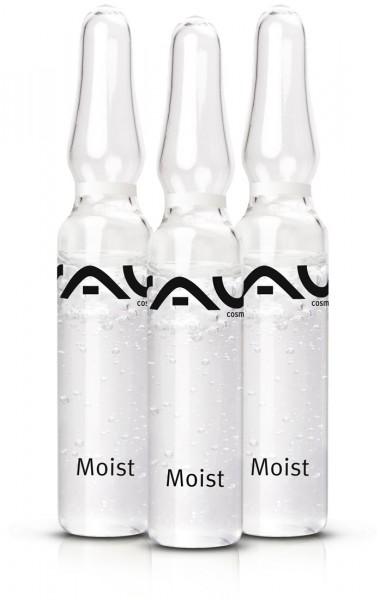 RAU Moist Ampoule 3x2 ml - effektiver Feuchtigkeitsbooster