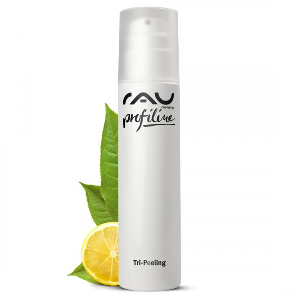RAU Tri-Peeling 200 ml PROFILINE -Cabinware- Enzymatic & Fruit Acid Peeling with Papaya & White Tea