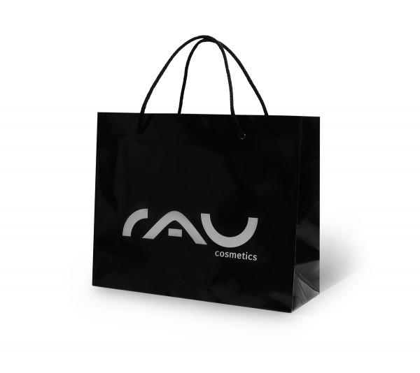 RAU Cosmetics Tragetasche schwarz, hochglanz