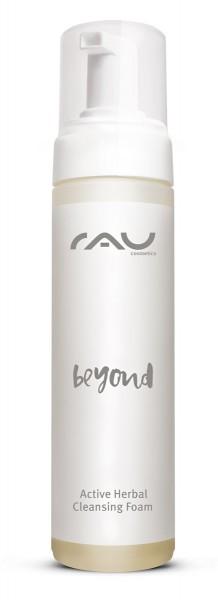 RAU beyond Active Herbal Cleansing Foam 200 ml - Mild, Foaming Facial Cleanser
