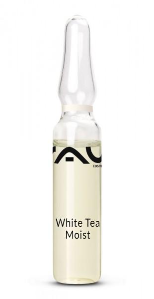RAU White Tea Moist Ampullen 10 x 2 ml - Konzentrat mit Weißem Tee, Xanthan, Hyaluronsäure & Q10
