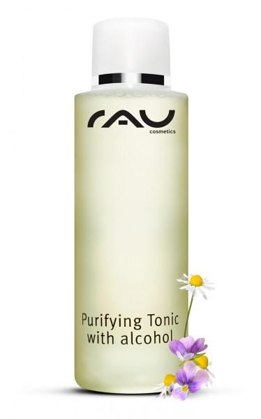 RAU Purifying Tonic with alcohol 200 ml - Entzündungshemmender Spezialtoner gegen unreine Haut