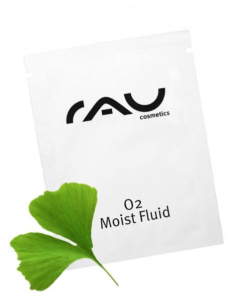 RAU O2 Moist Fluid 1,5 ml - durchblutungsförderndes Fluid mit Hyaluronsäure & Ginkgo-Extrakt