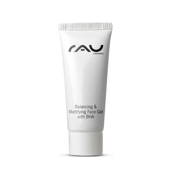 RAU Balancing & Mattifying Face Gel with BHA 8 ml - Regulating, Pore Cleaning Night Care