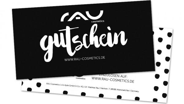 RAU Cosmetics Geschenkgutschein - 50 Euro